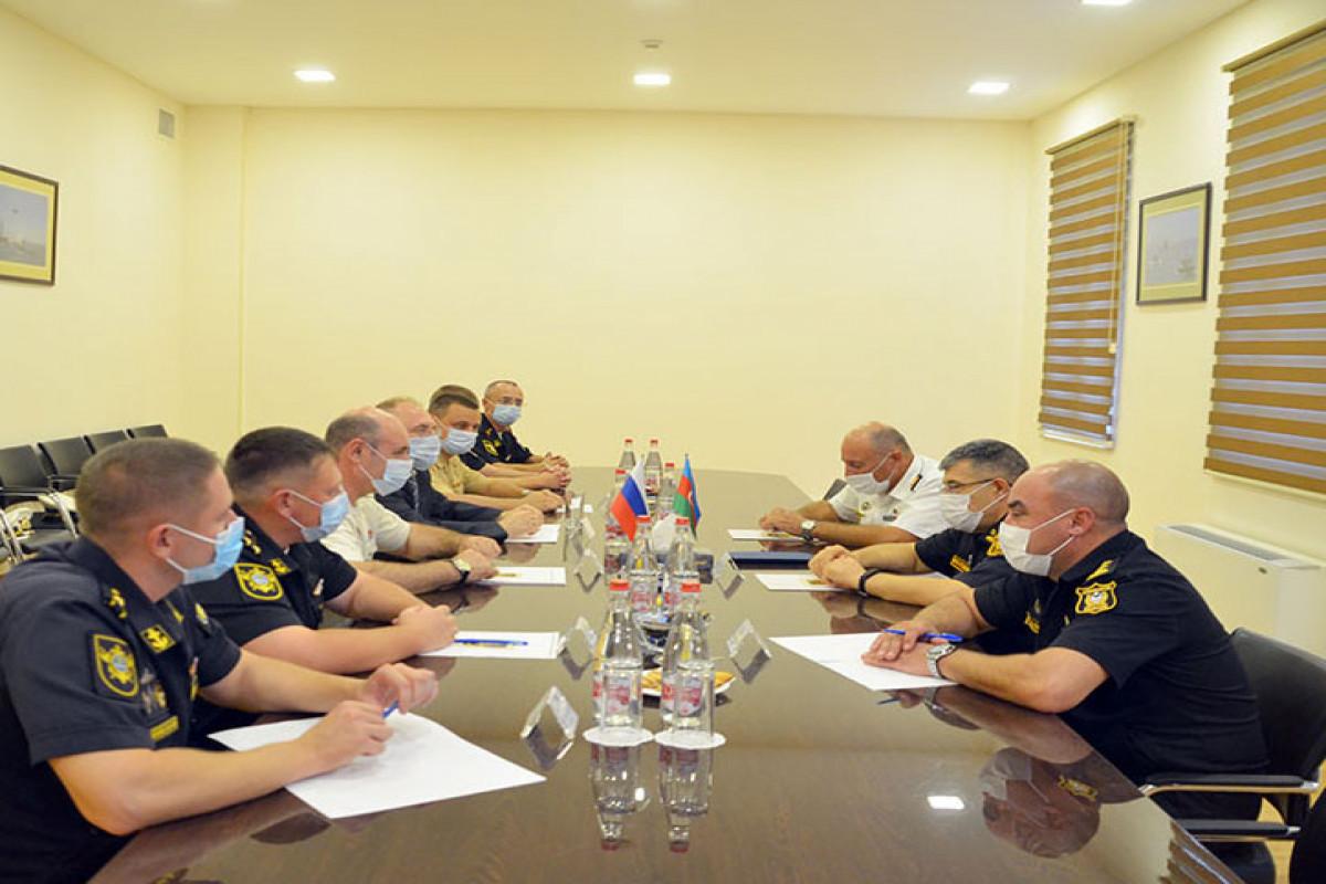 В Баку состоялась встреча военных моряков Азербайджана и России