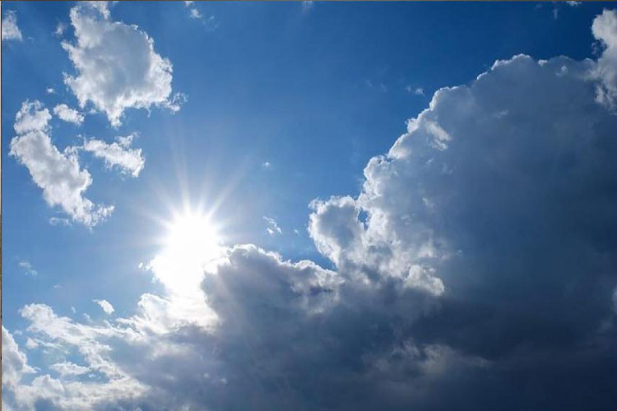 Завтра в Баку будет ветрено, в горных районах пройдут дожди