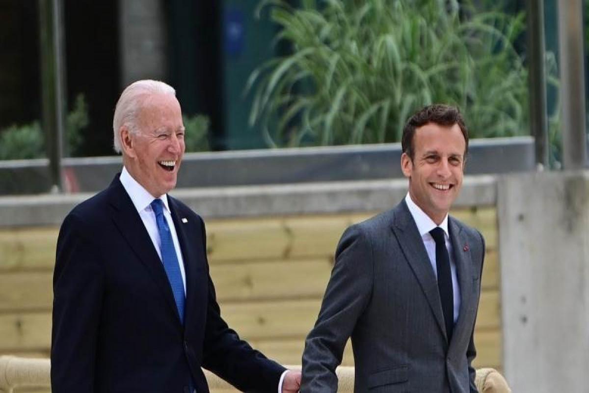 Spox: Macron intends to hold talks with Biden
