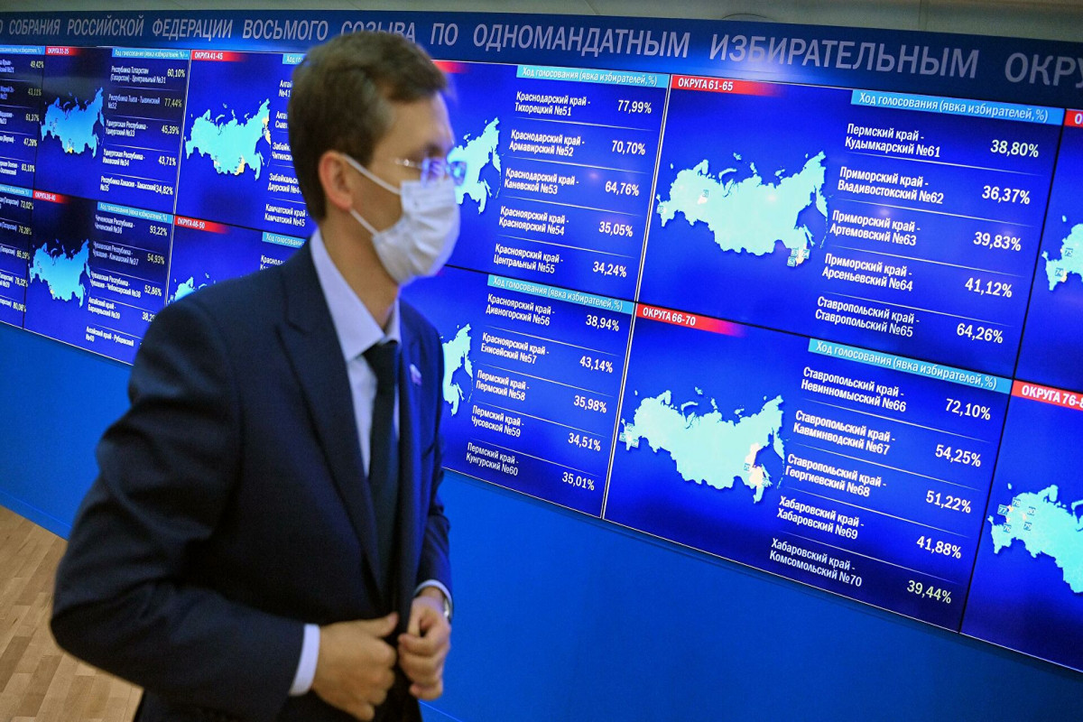 Экзит-полл: в Госдуму проходят четыре партии