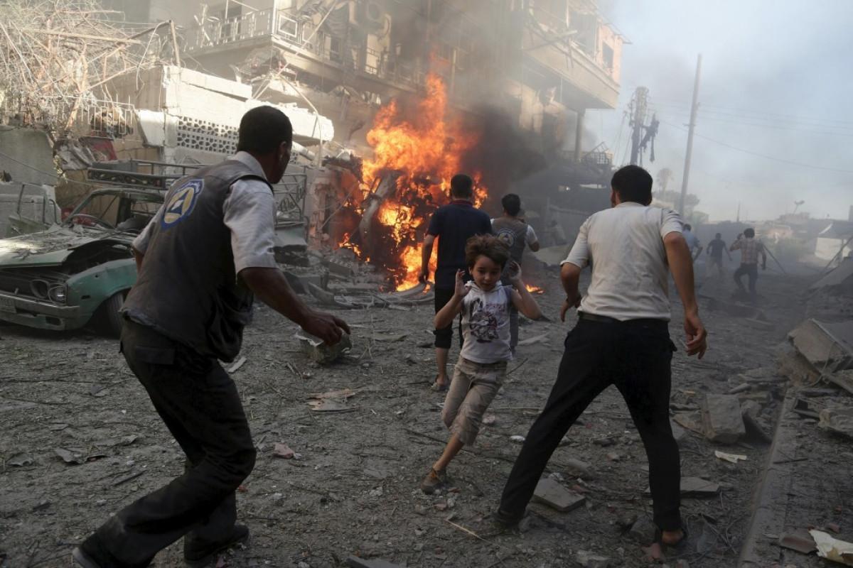 Əfqanıstanda partlayış nəticəsində 1 uşaq ölüb, 2 uşaq yaralanıb