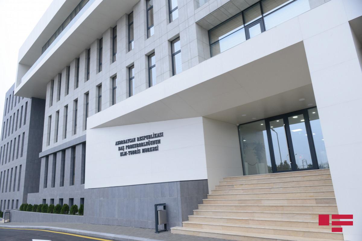 Prokurorluq: 100 iş üzrə ittiham aktı təsdiq edilməyərək istintaqa qaytarılıb