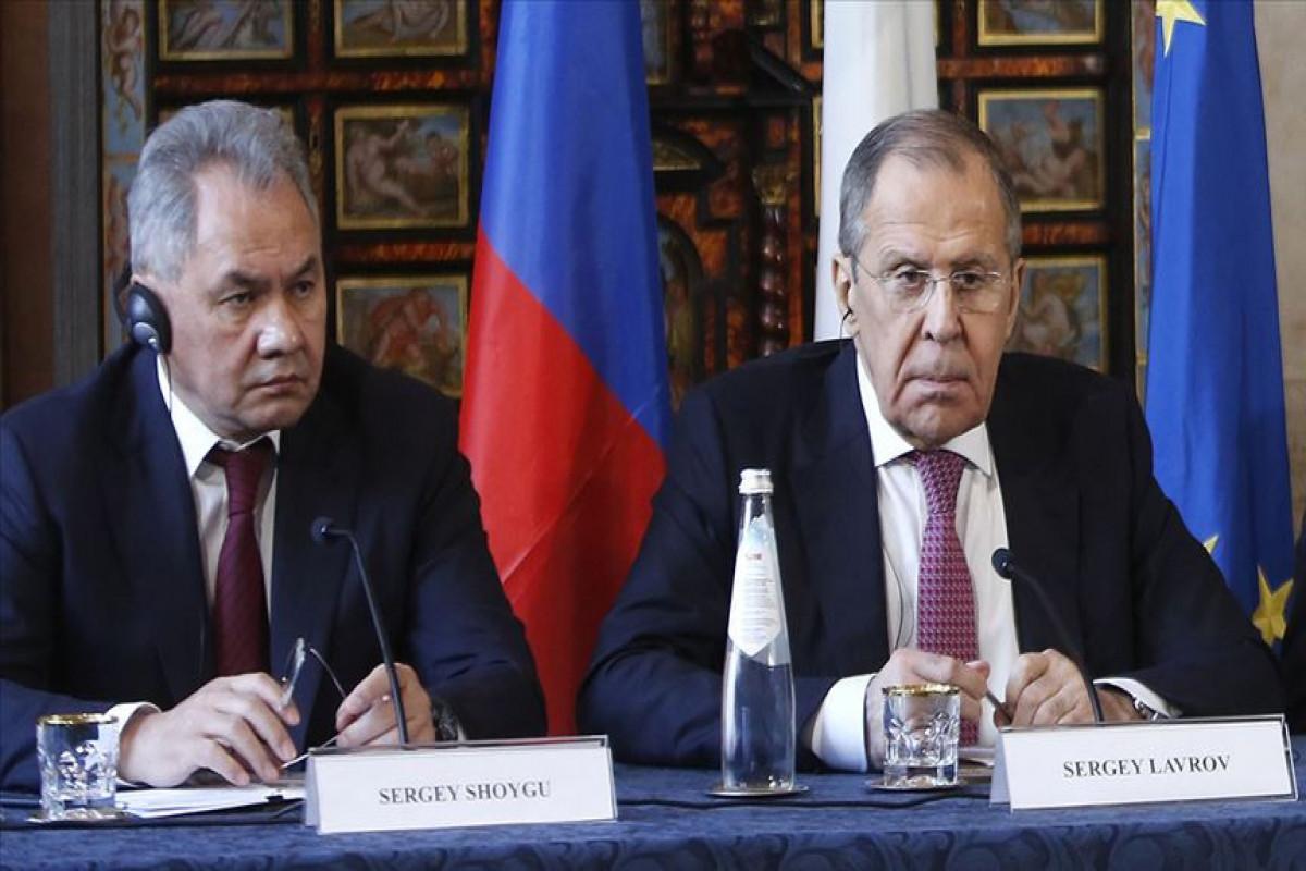 Сергей Шойгу, Сергей Лавров