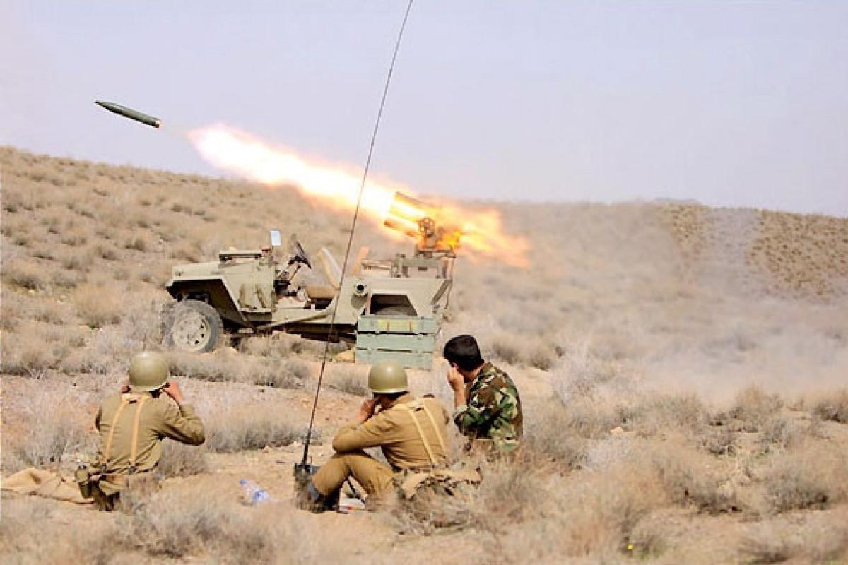 КСИР разбомбил 4 штаба террористов в Ираке