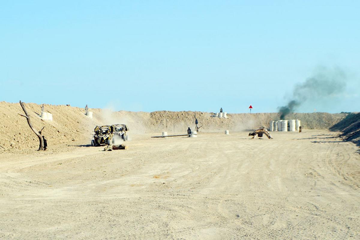 Генералы понаблюдали за учениями спецназовцев Азербайджана, Турции и Пакистана