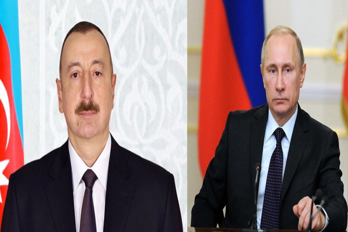 Azerbaijani President congratulates Russian counterparton victory of United Russia in elections