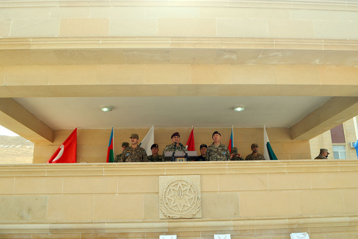 """Closing ceremony of the """"Three Brothers - 2021"""" international exercises was held"""