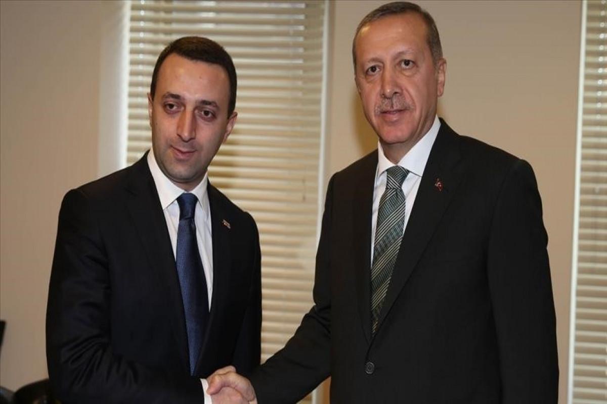 Премьер-министр Грузии встретится в Нью-Йорке с Эрдоганом