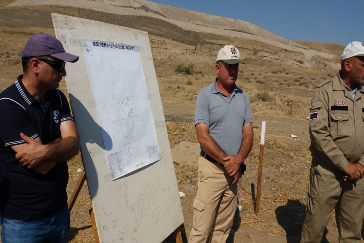 ANAMA: İndiyədək Füzulinin Horadiz kəndində 164 mina aşkar edilib