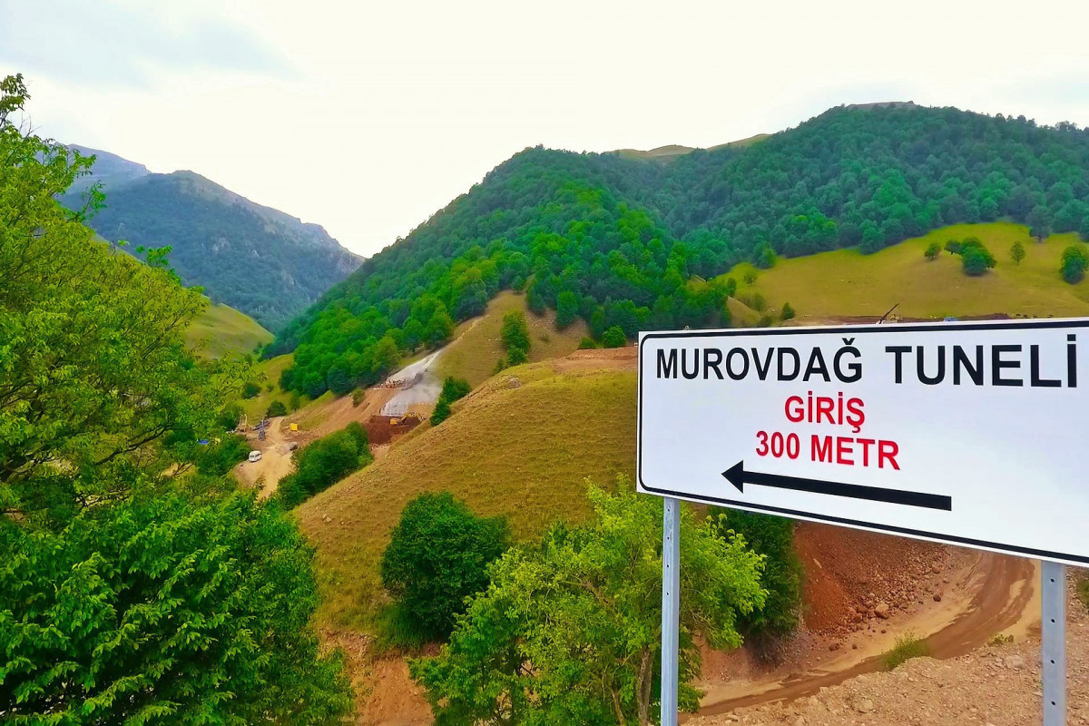Госагентство распространило информацию о строительстве туннеля Муровдаг