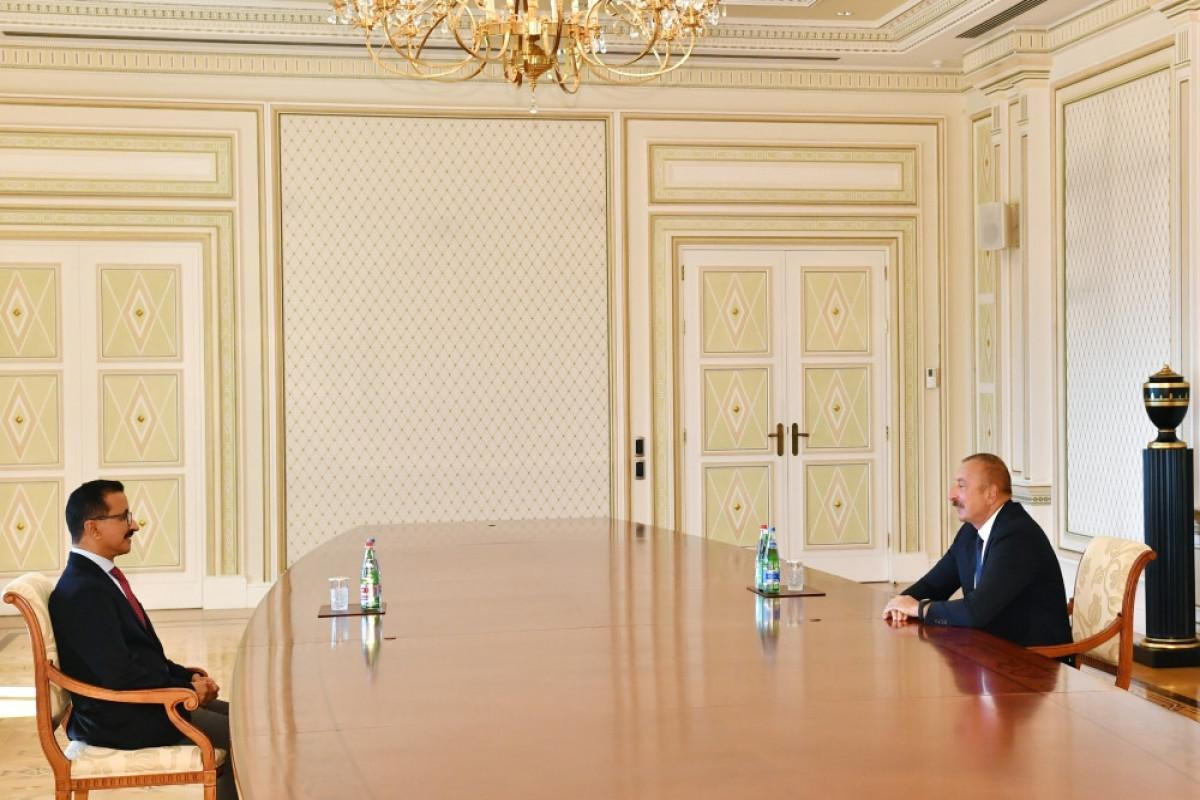 Prezident İlham Əliyev və Sultan Əhməd bin Sulaim