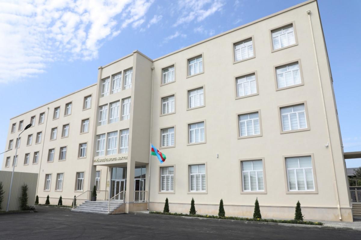 Школа № 71 Сабунчинского района