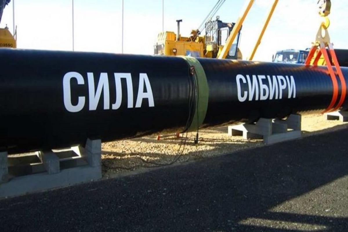 """""""Qazprom"""" """"Sibirin Gücü"""" kəməri ilə Çinə qazın nəqlini dayandıracaq"""
