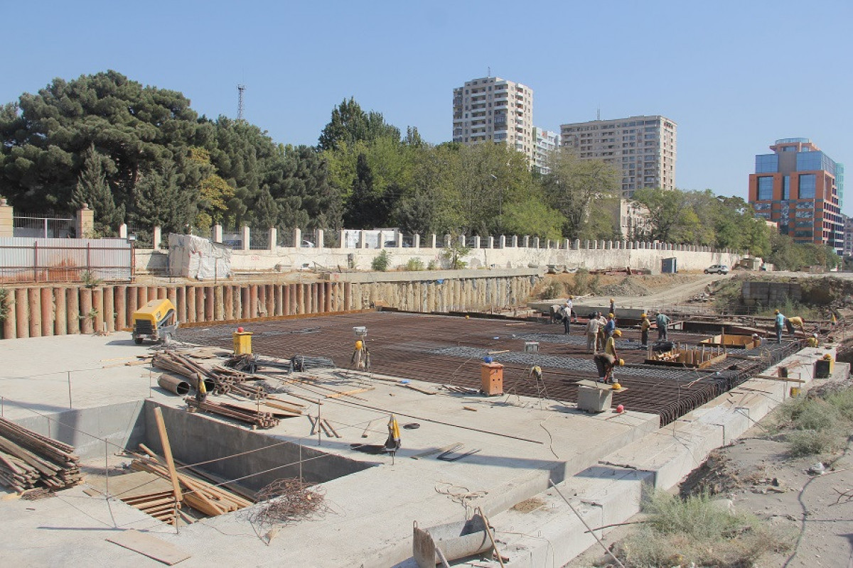 Construction of new station of Baku Metro started