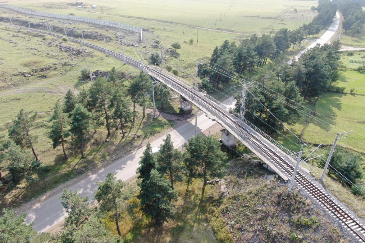 BTQ dəmir yolunun tam gücü ilə işləməsi üçün tədbirlər görülür - FOTO