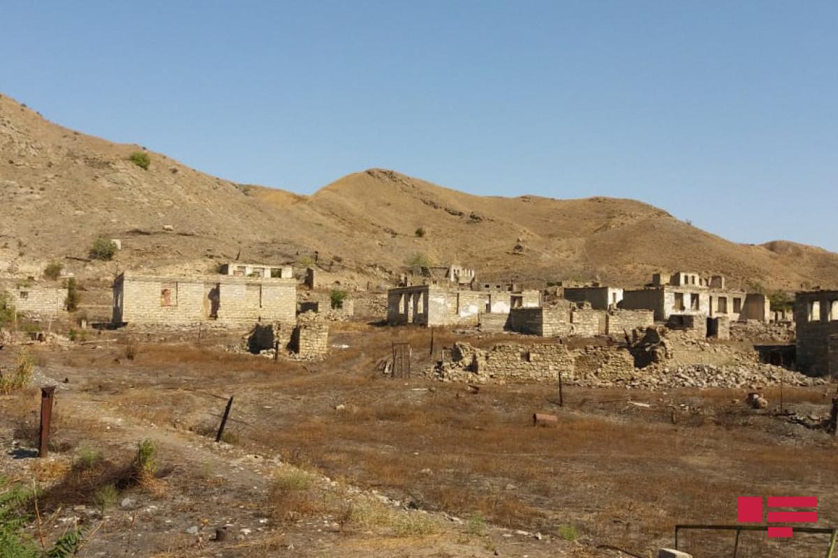 Gürcü jurnalistlər Xudafərin kəndində
