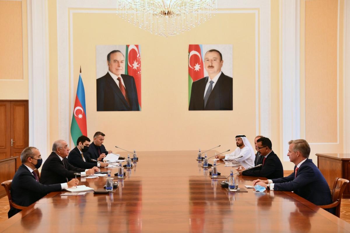 Али Асадов встретился с председателем и исполнительным директором группы компаний «DP World»