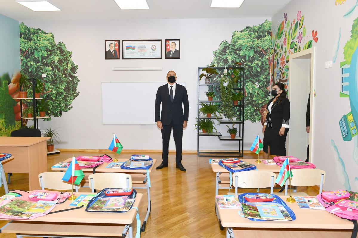 В Сабунчинском районе полная средняя школа №307 передана в пользование после капремонта и реконструкции
