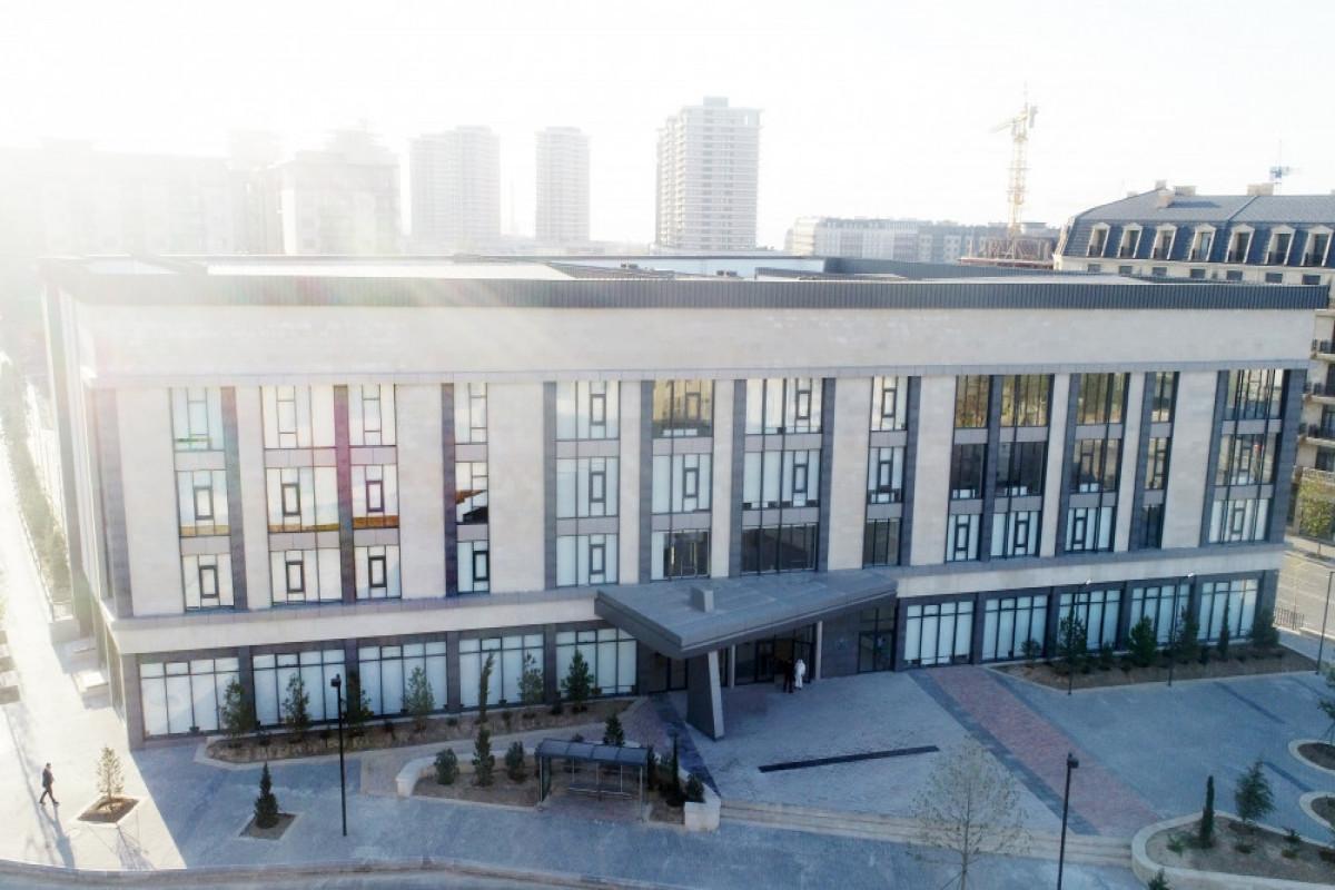 Новое здание Бакинского Европейского лицея