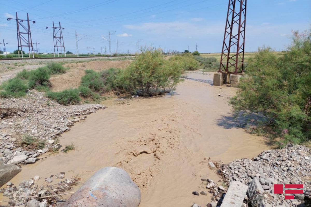 """В районах ожидаются ливни и наводнения в горных реках-<span class=""""red_color"""">ПРЕДУПРЕЖДЕНИЕ"""