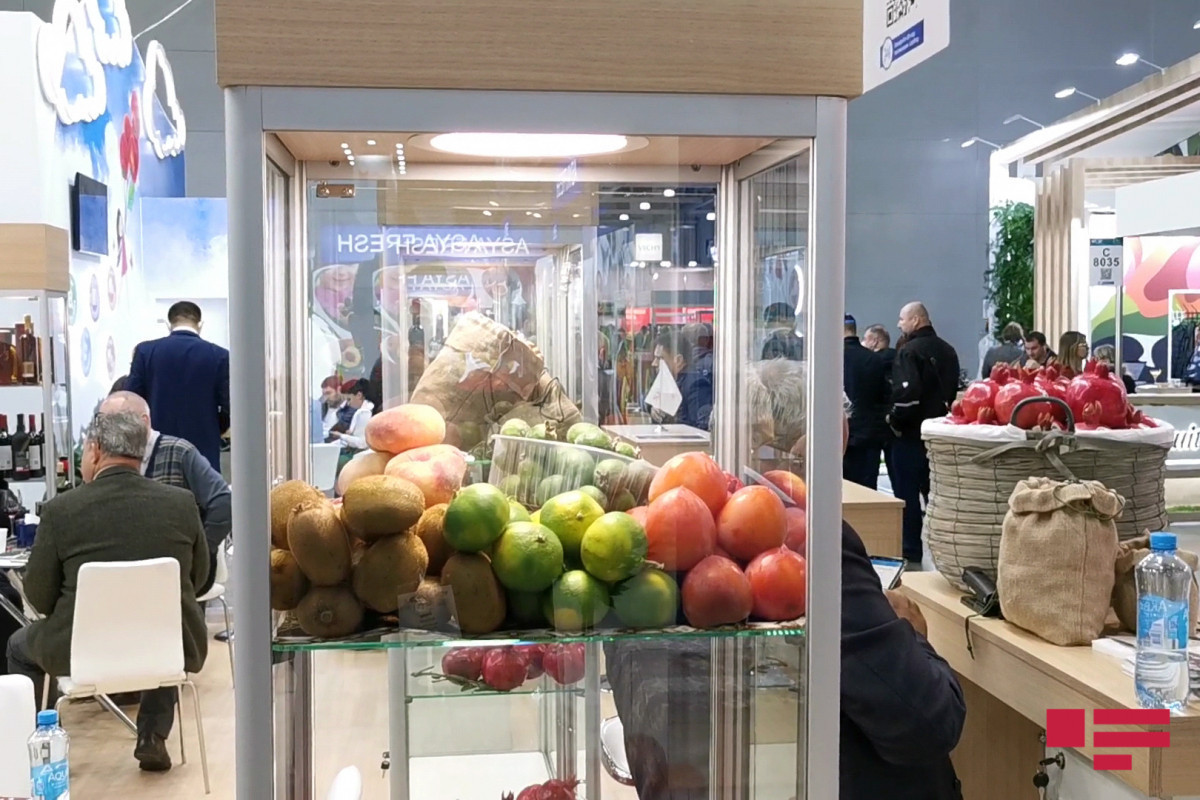 Azerbaijan attendsinternational food exhibition in Moscow for the next time-PHOTO
