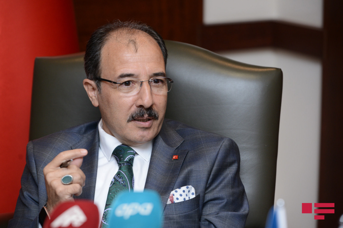 """Turkish ambassador: """"First of all peace agreement should be signed between Azerbaijan and Armenia, borders should be determined""""-<span class=""""red_color"""">Interview"""