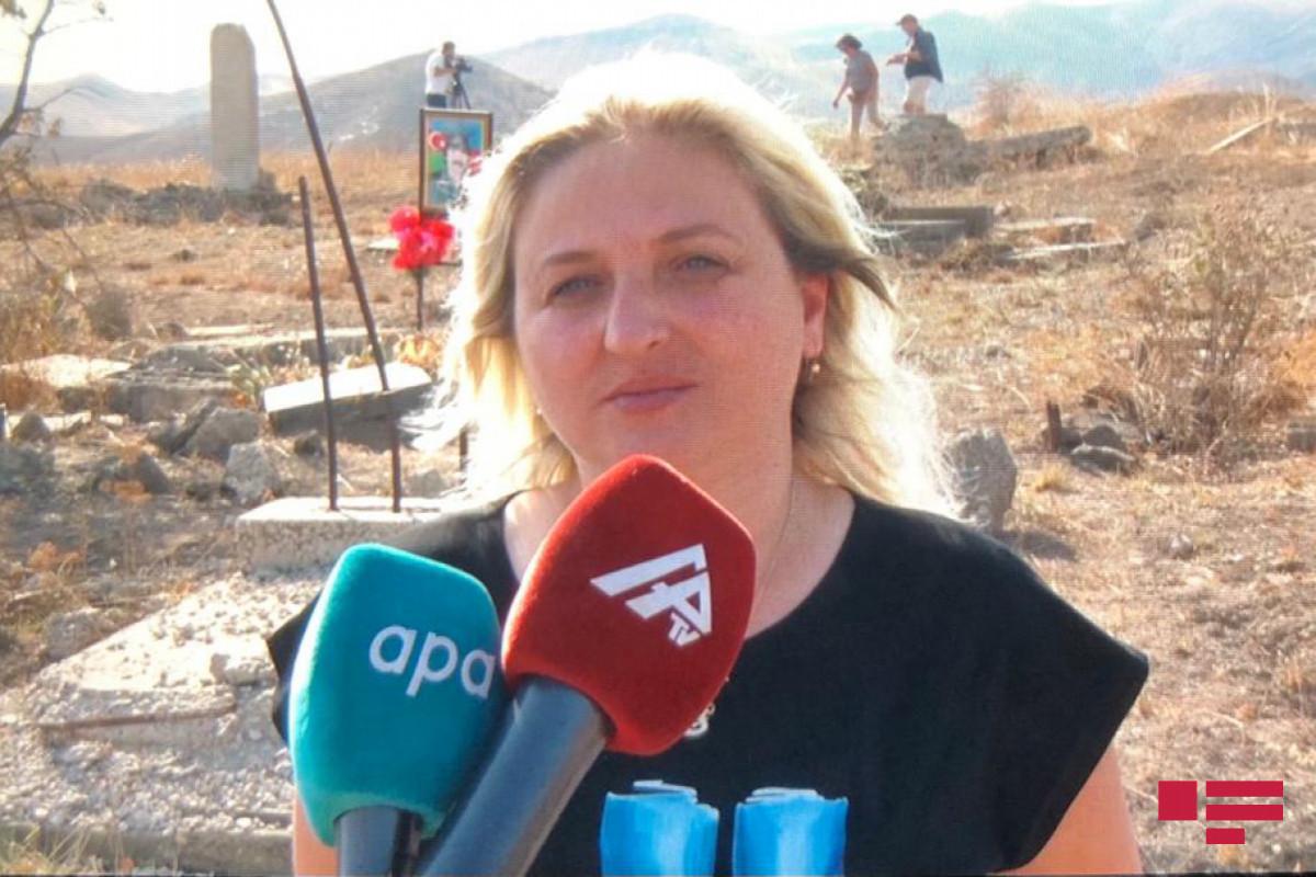 Посетившая освобожденные от оккупации территории Азербайджана блогер из Грузии: Впечатления ужасающие