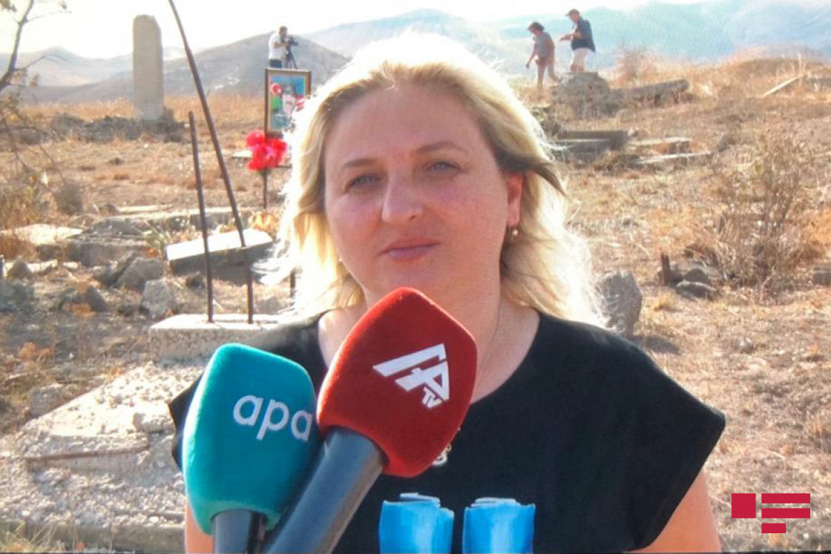 """Georgian blogger visited liberated territories of Azerbaijan from occupation: """"My impressions are terrible"""""""