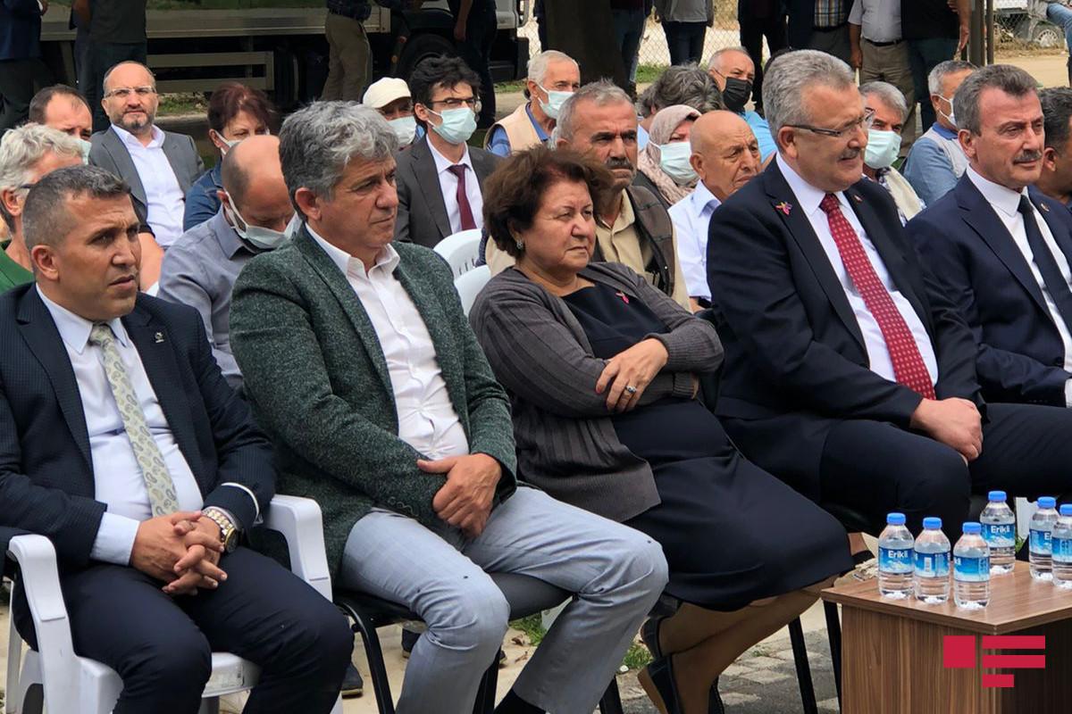 Türkiyədə Milli Qəhrəman Şirin Mirzəyevin adına parkın açılışı olub - FOTO
