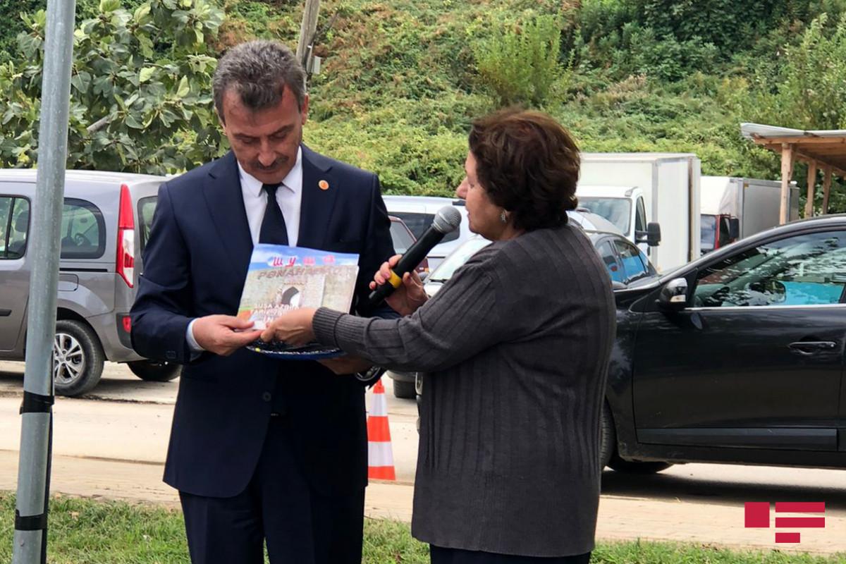 Park named after National Hero of Azerbaijan Shirin Mirzayev opened in Turkey-PHOTO