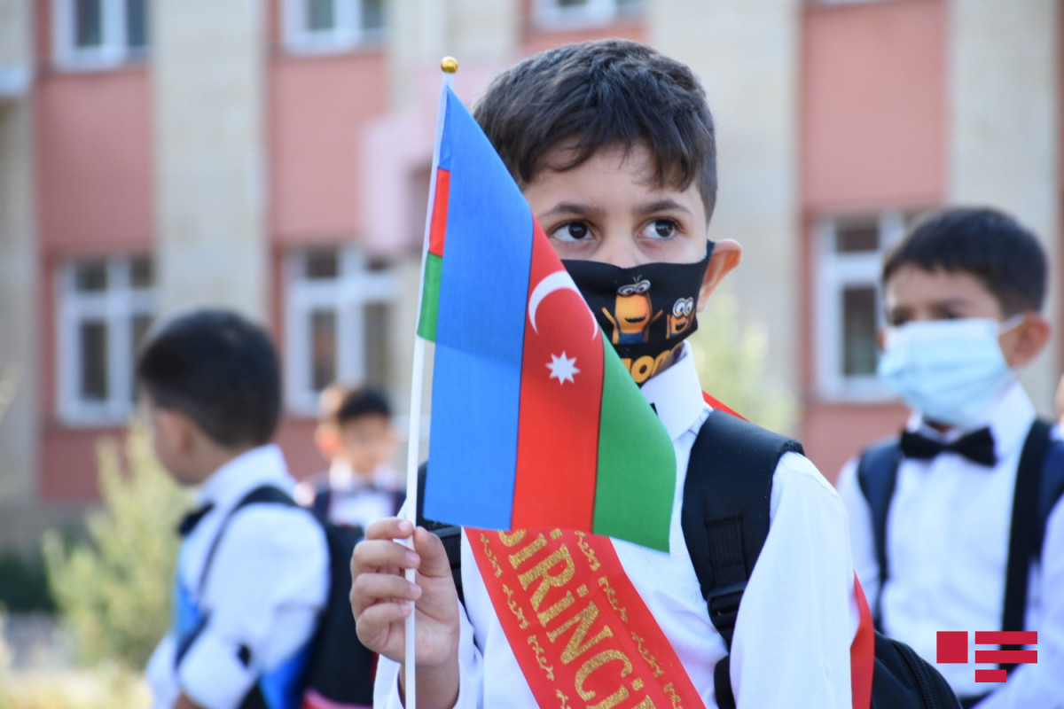 Schools are opening in Azerbaijan today