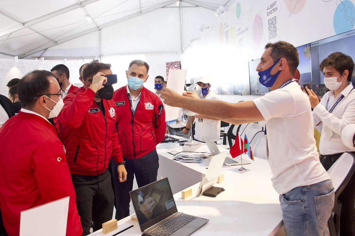 Азербайджан представлен на «Технофест» 11 стартапами