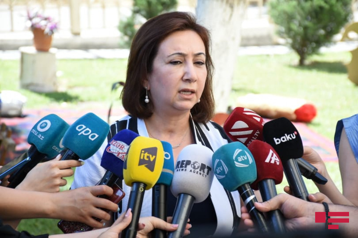 Head of Baku City Education Department Mehriban Valiyeva