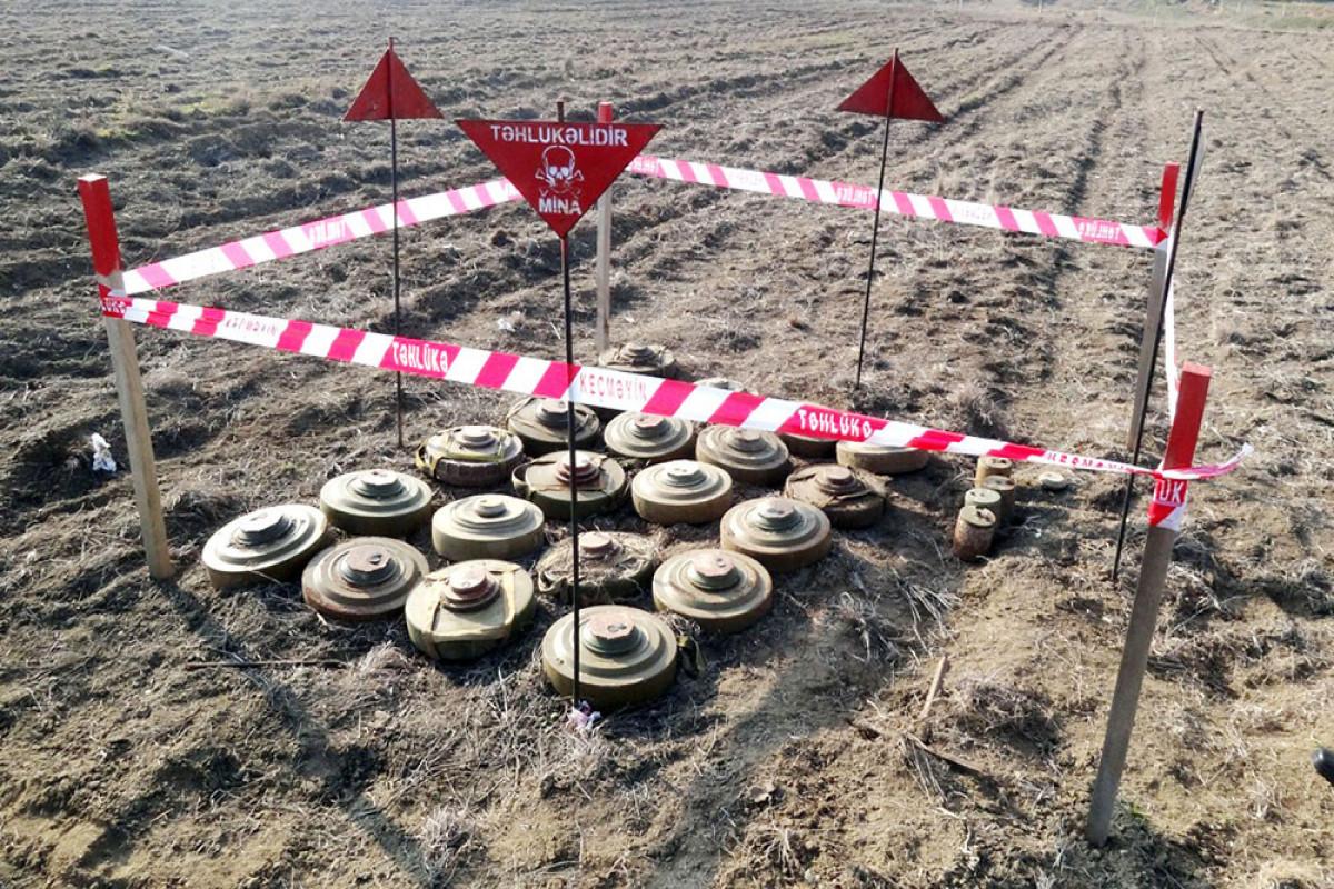 Azad olunan ərazilərdə mühəndis-istehkam bölmələri 11900 hektardan çox ərazini minalardan təmizləyib