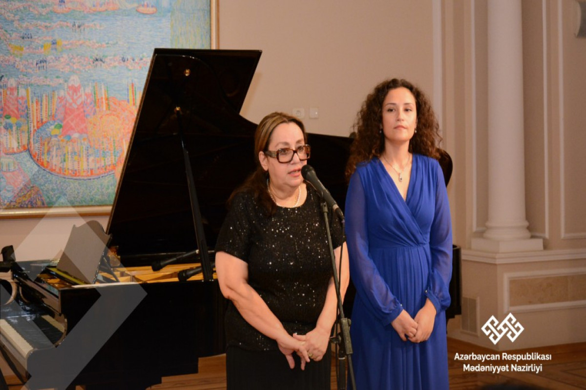Azərbaycan Milli İncəsənət Muzeyində fortepiano musiqisi axşamı təşkil edilib