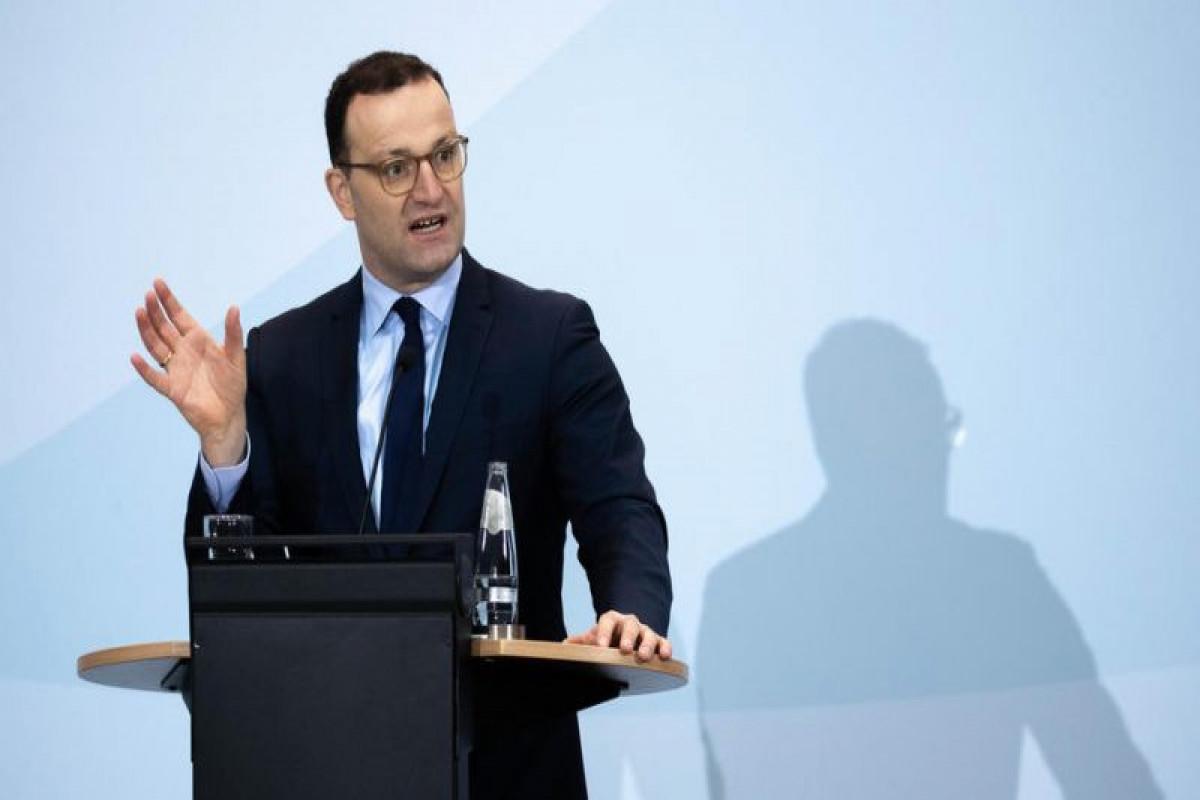 German Federal Minister of Health Jens Spahn