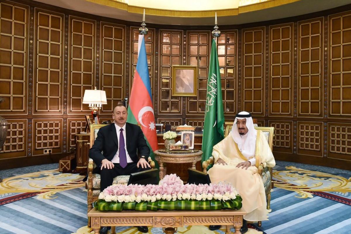 Ilham Aliyev, Salman bin Abdulaziz Al Saud
