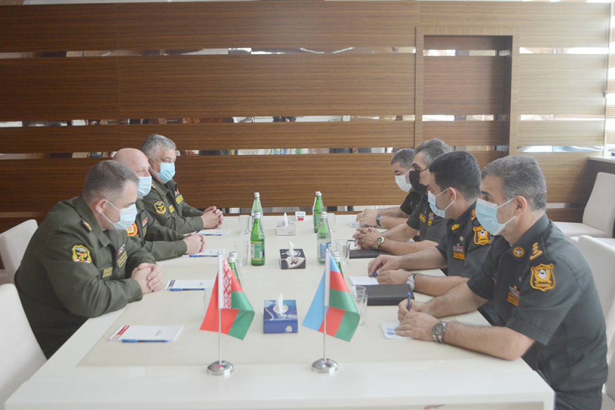 Azerbaijani and Belarusian military medical specialists held a working meeting