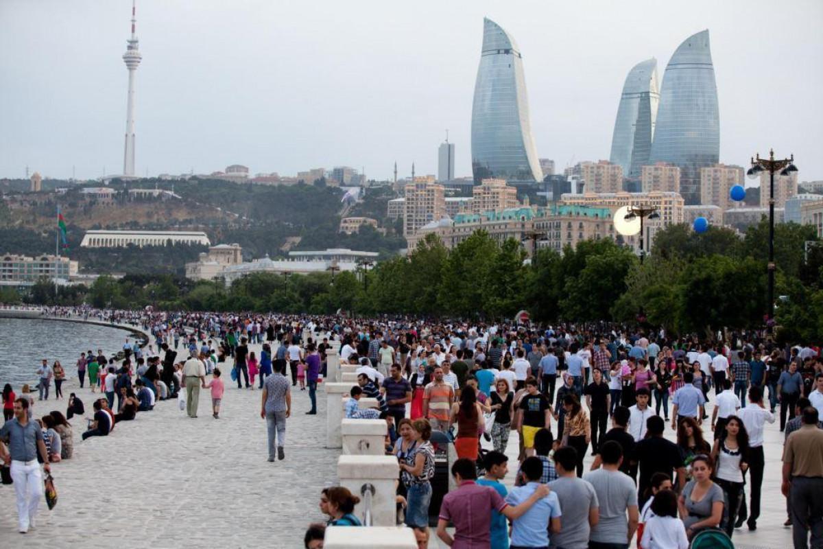Bakı əhalisinin sayı açıqlanıb