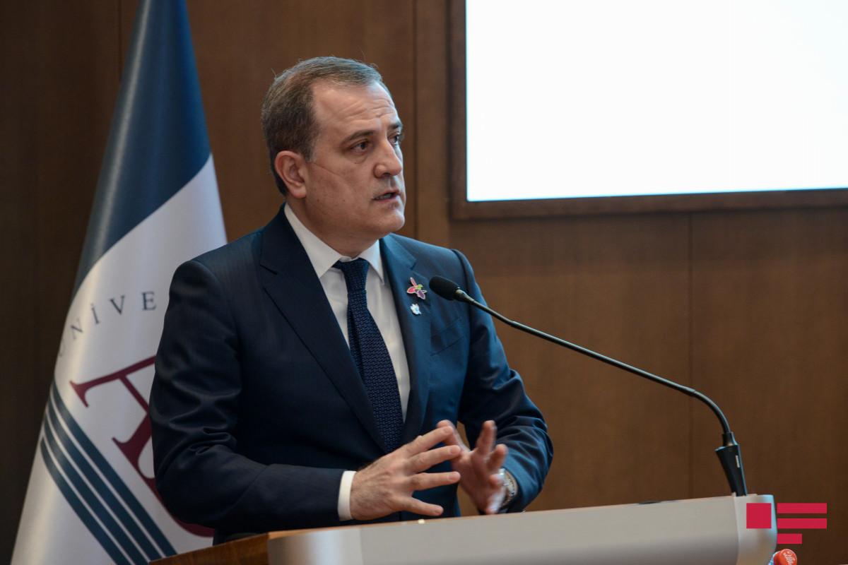 Azerbaijani FM: Azerbaijan is resolute to re-integrate its citizens of Armenian origin into its political, social, economic space
