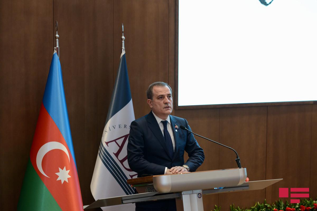 "Jeyhun Bayramov: ""International community should exert pressure on Armenia to abandon revanchist approaches"""