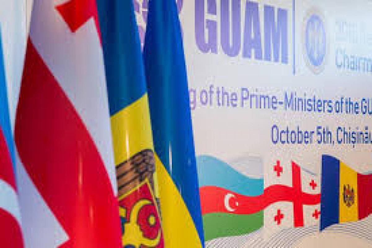 GUAM Xarici İşlər Nazirləri Şurasının 37-ci iclasının protokolu qəbul edilib
