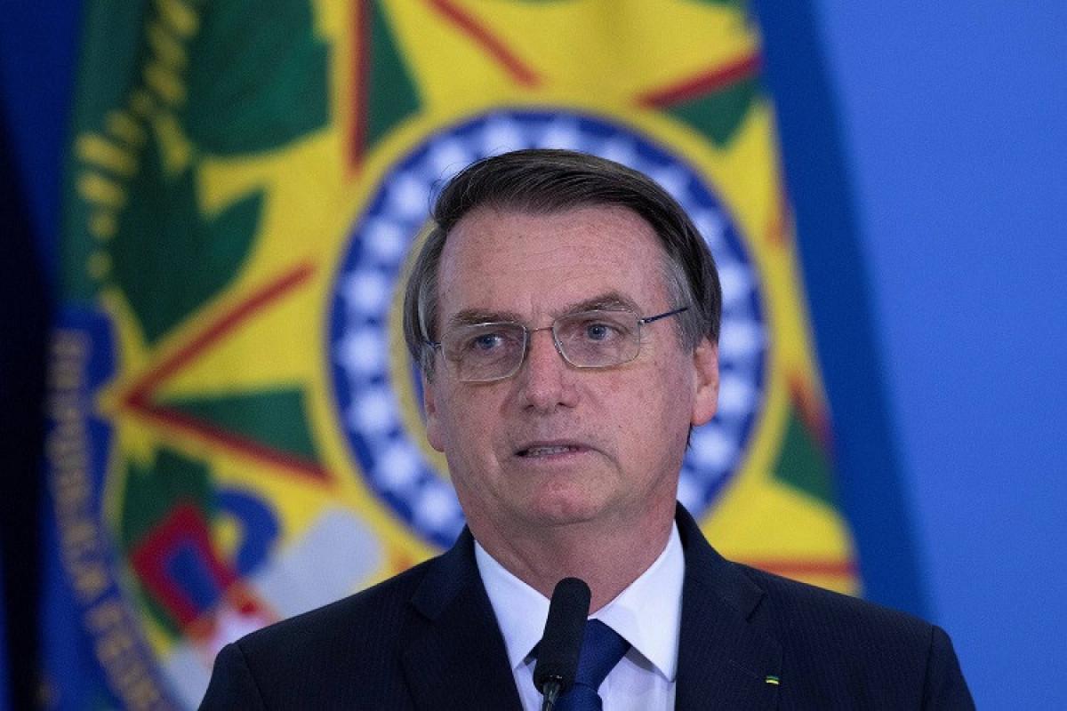 Braziliya prezidenti karantinə alınıb