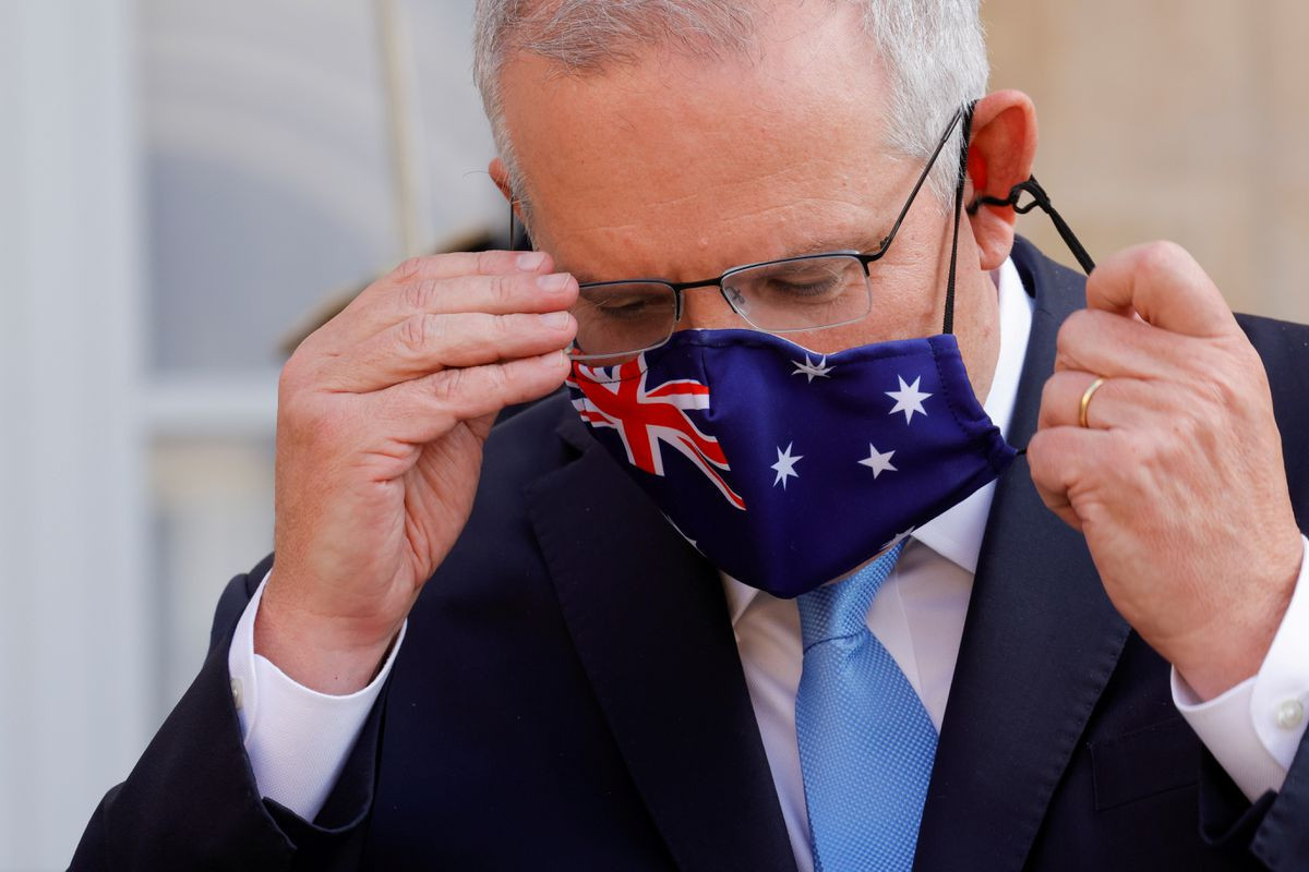 Australia says will be patient on rebuilding ties with France