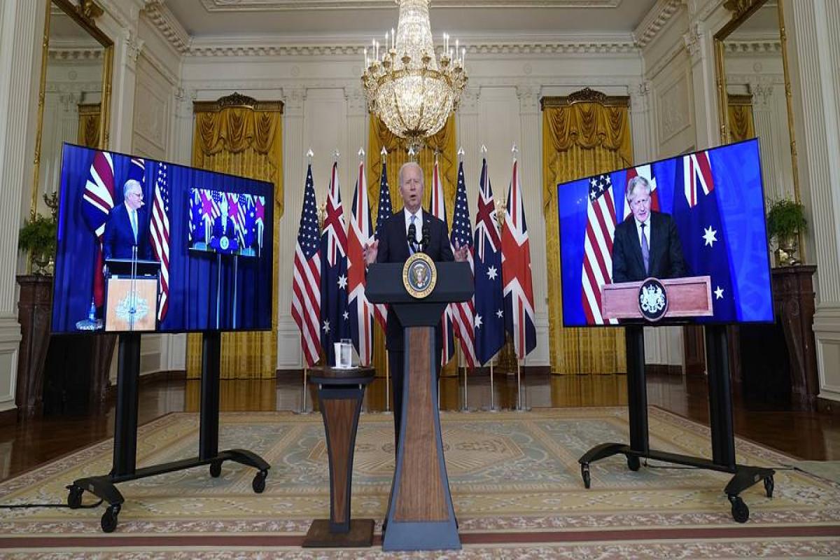 В КНР назвали оборонное соглашение США, Австралии и Великобритании безответственным