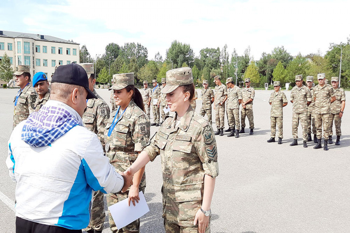 Orienteering Competition held among the servicemen ended