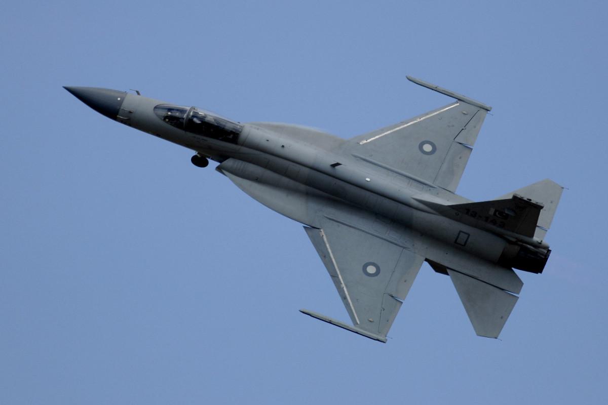 Самолет ВВС Пакистана разбился во время тренировочного полета
