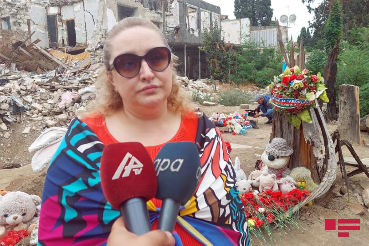 """Gürcü bloger: """"Gəncədə gördüyüm dağıntıları heç vaxt unutmayacam"""""""