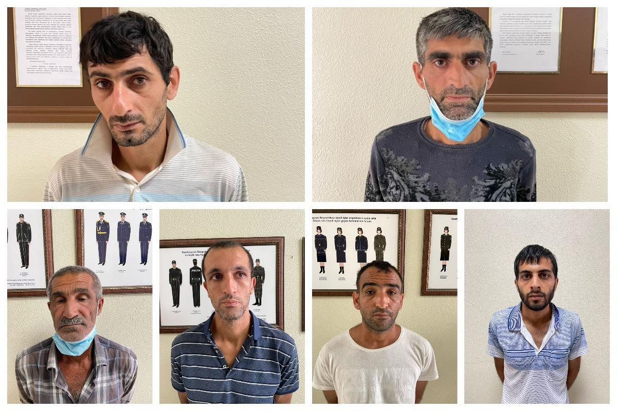 Xızıda narkotik satışına görə 6 nəfər saxlanılıb