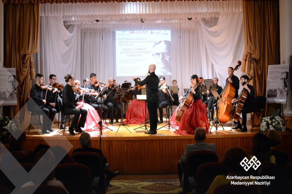 XIII Beynəlxalq Musiqi Festivalı çərçivəsində simfonik musiqi axşamı keçirilib